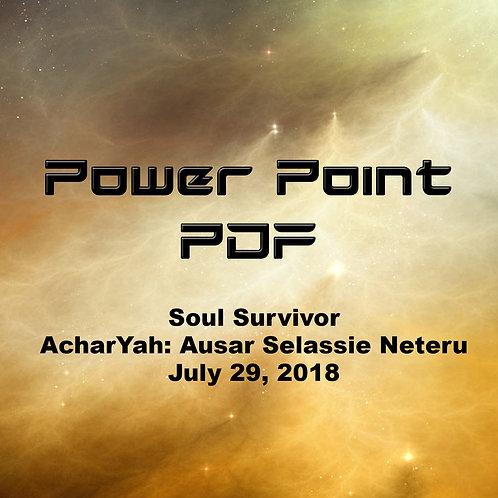 Soul Survivor Jnana PDF