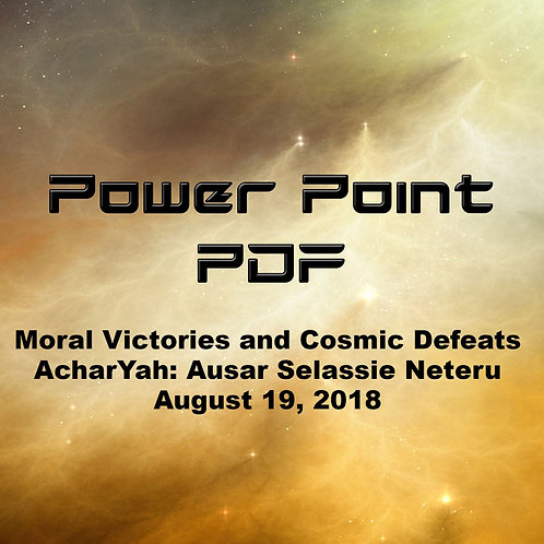 Moral Victories and Cosmic Defeats PDF