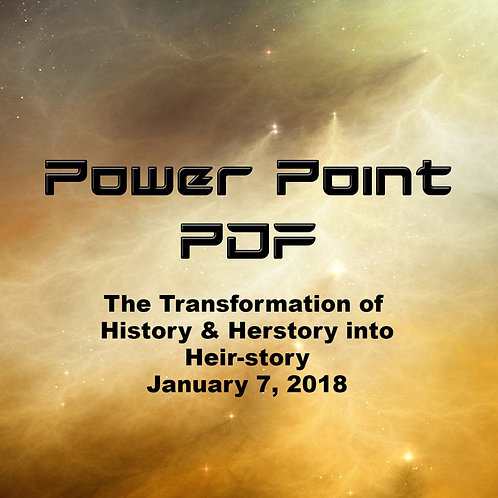 The Transformation of History and Herstory into Theirstory Power Point PDF