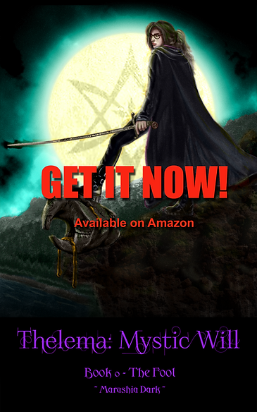 """Cover of """"Thelema - Book 0: The Fool,"""" by Marushia Dark"""