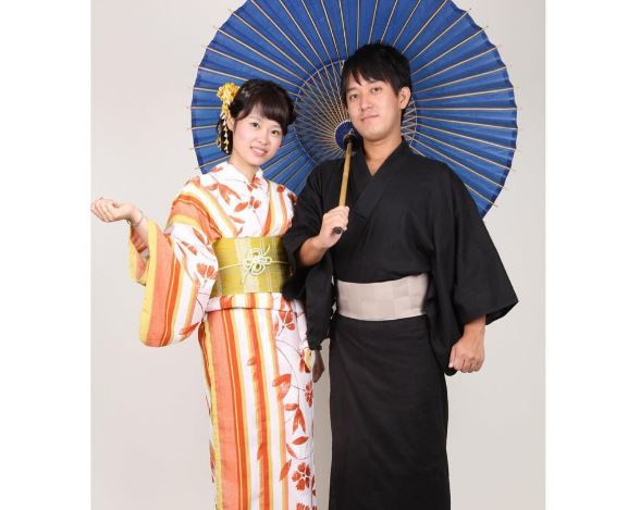 Traditional Japanese attire