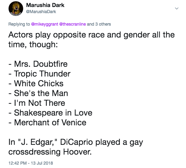 Movies that race-and-gender swap