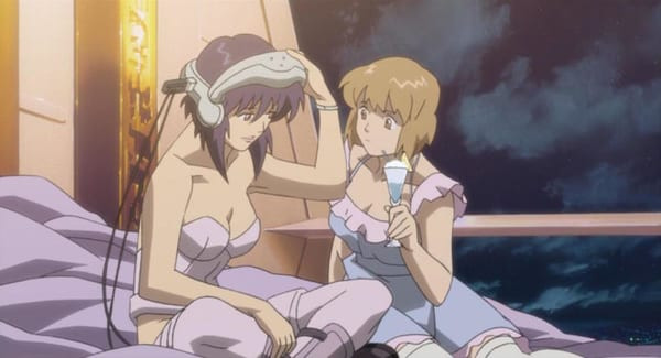 Ghost in the Shell lesbians.