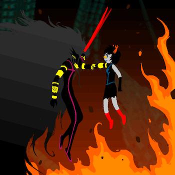 Condesce Aranea fire