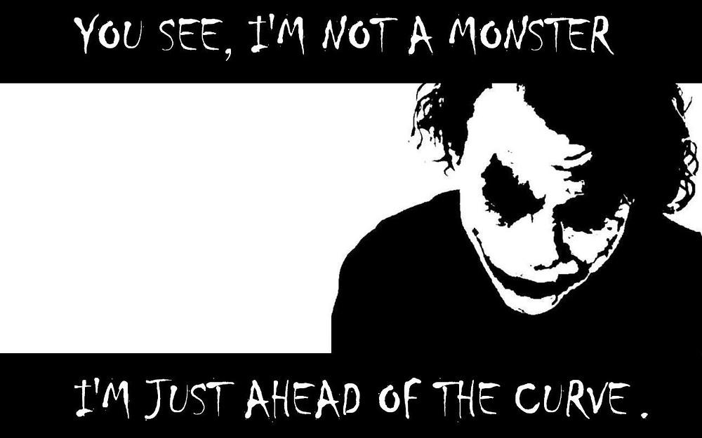 Joker Not a Monster