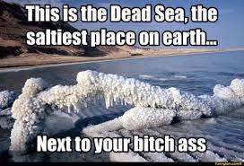 Dead Sea Salty