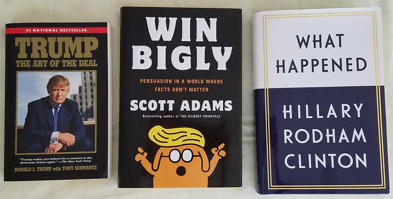 Art of the Deal, Win Bigly, What Happened