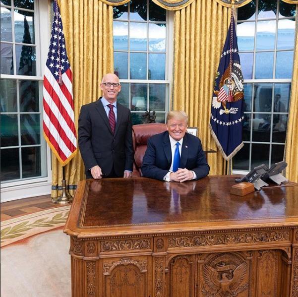 Scott Adams and President Trump