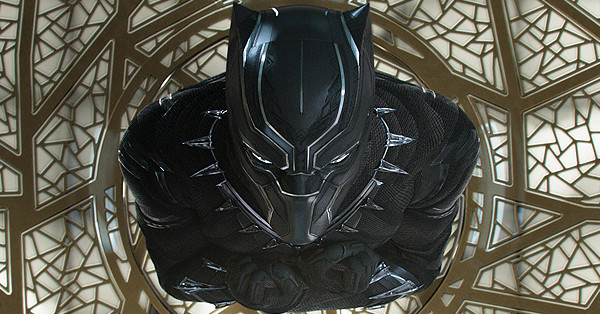 Black Panther, top down view