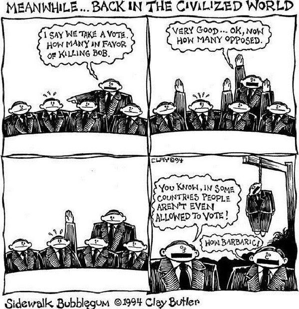 Democracy, tyranny of the majority