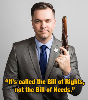 Austin Peterson, Bill of Rights