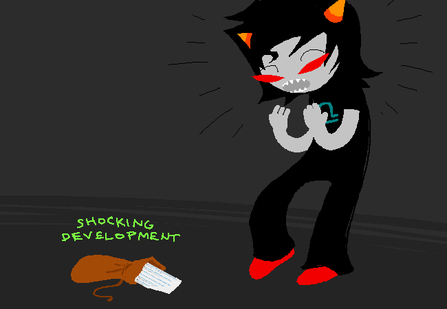 Terezi shocking development
