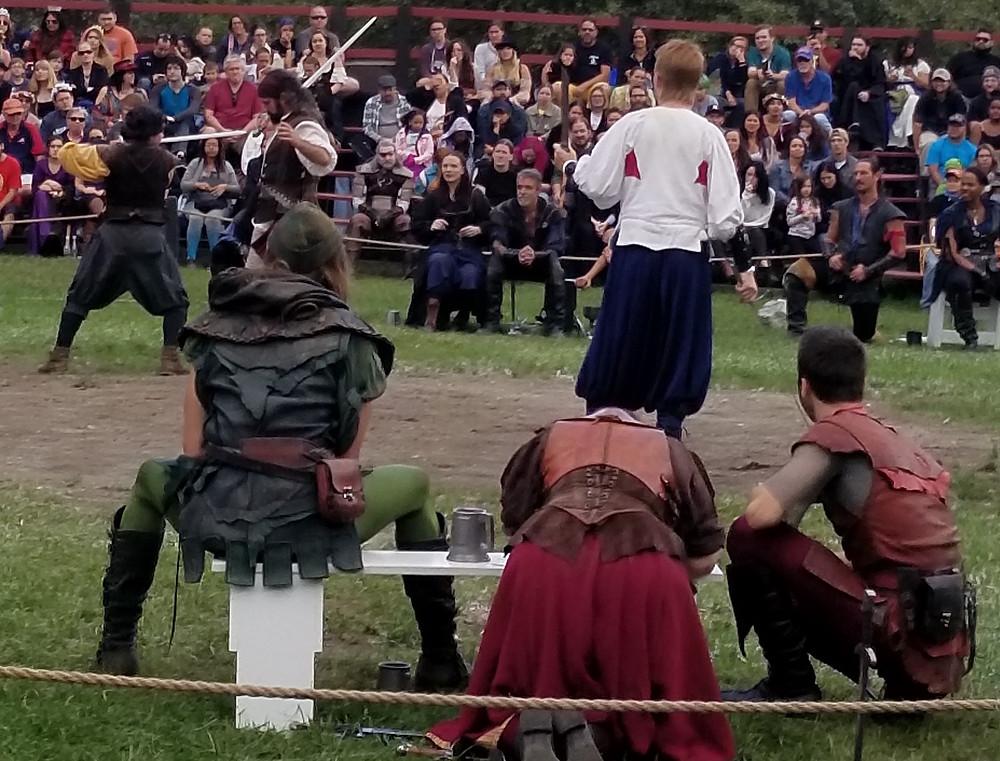 Renaissance Faire live chess