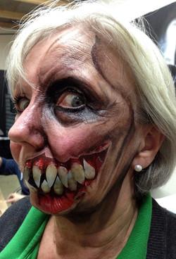 Half Face Monster Makeup