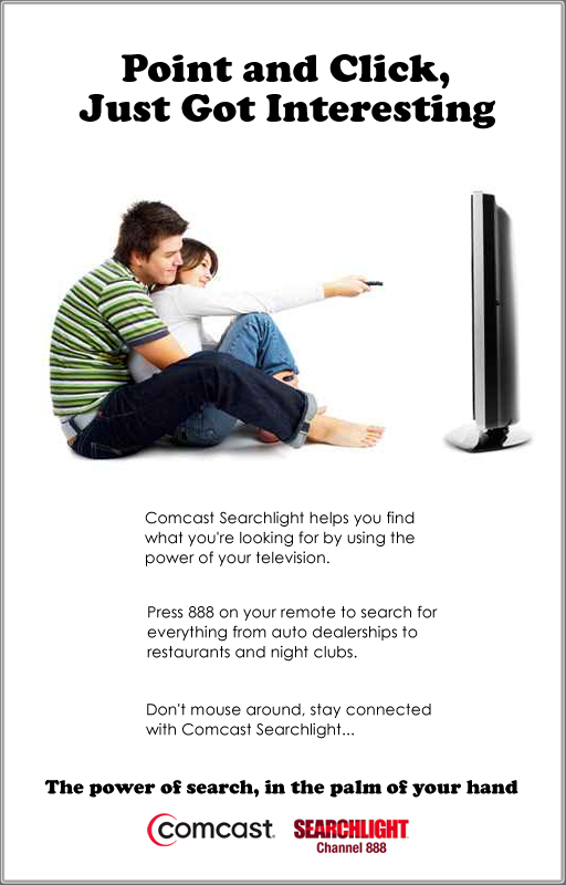Comcast Spotlight - Print Ad