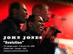 John Jones - Post Card/Poster