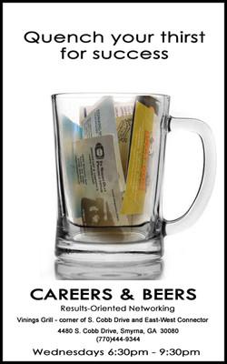 Careers & Beers - Flier/Poster