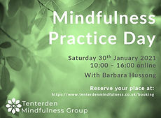 Mindfulness Practice Day