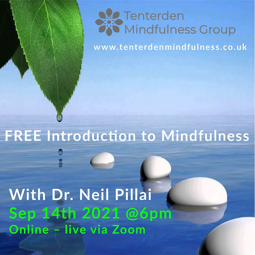 Introduction to Mindfulness Session - September 2021