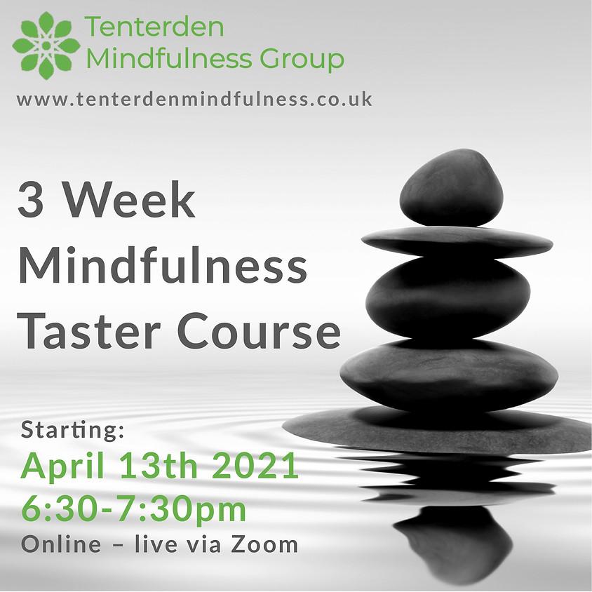 Mindfulness Taster Course - April 2021