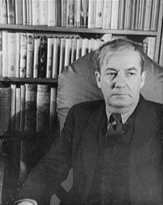 Sherwood Anderson, photograph by Carl Va