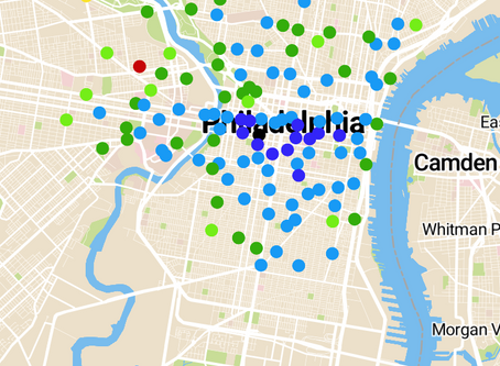 Finding Isolation in Philly's Bike Share System