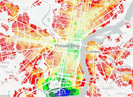 Beautiful Maps of Commuting in Philadelphia
