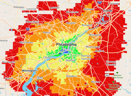 Commuting to Philly's Navy Yard by Car
