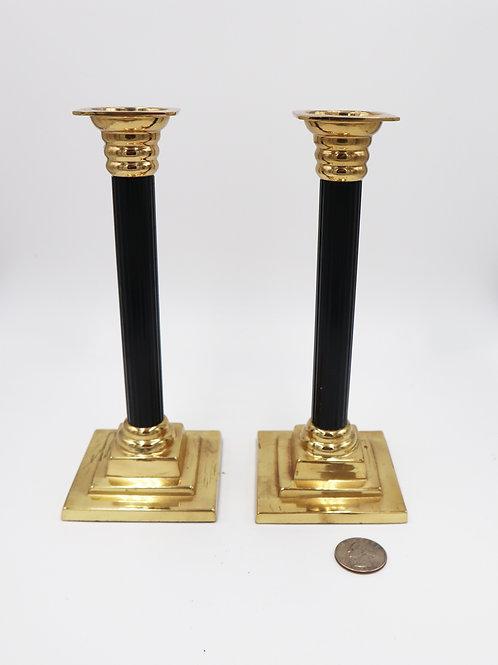 Vintage Brass candle sticks