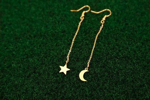 Stargirl dangle earrings