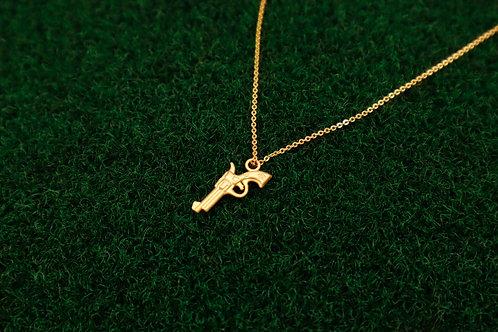 Pew Pew necklace