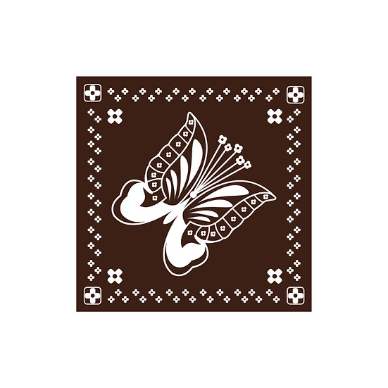 (BR) Butterfly Bandana