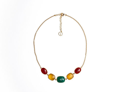 COLLANA CHOCKER 7 PIETRE