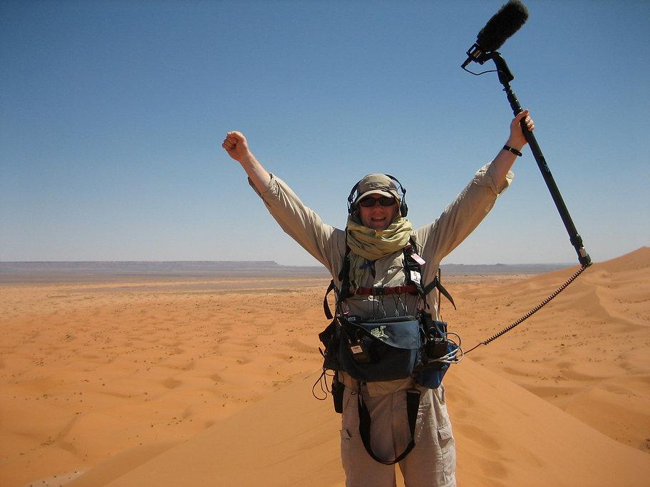 Location Sound, Merzouga Dunes Morocco