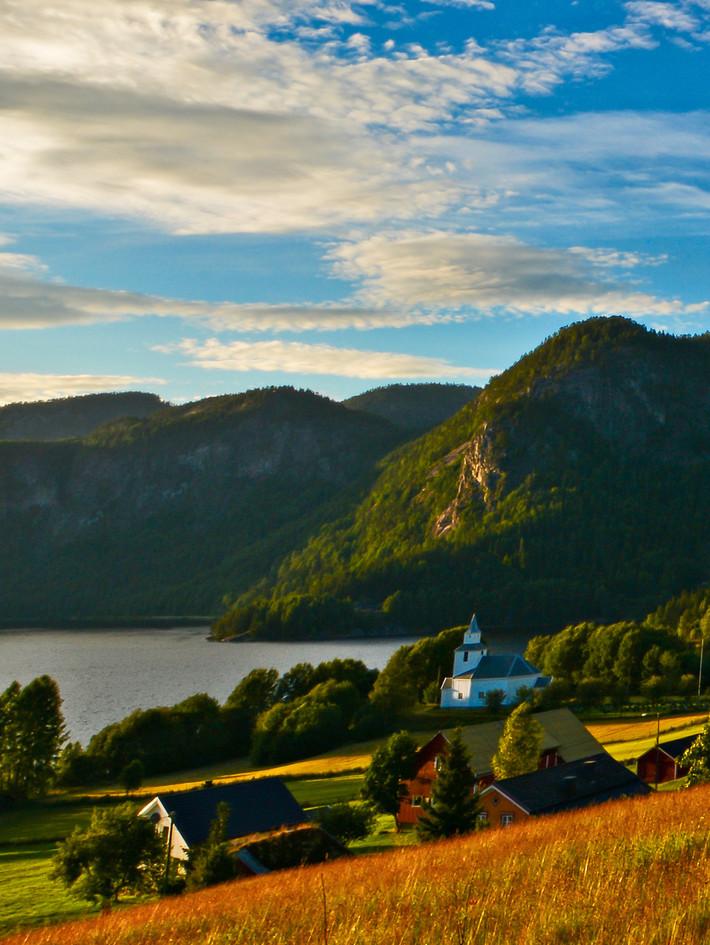 Åraksbø_Bygland_Norway_solnedgang_090716
