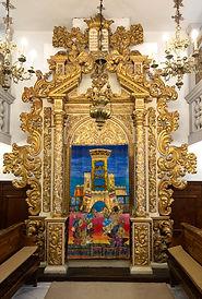 ארון הקודש בבית הכנסת האיטלקי