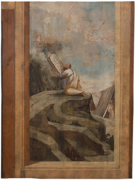 משה על הר סיני