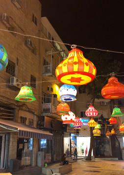 מדרחוב בן הלל, מרכז העיר, ירושלים.