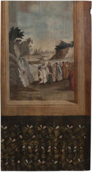 משה מכה בסלע ויוצאים ממנו מים