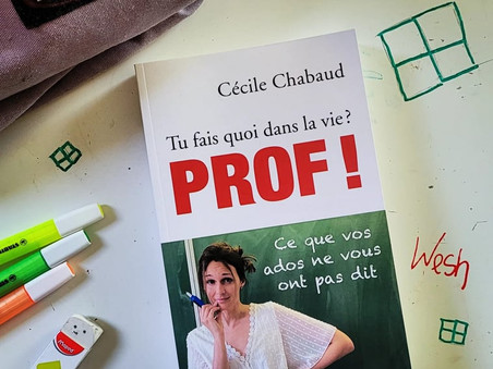 Prof ! - Cécile Chabaud