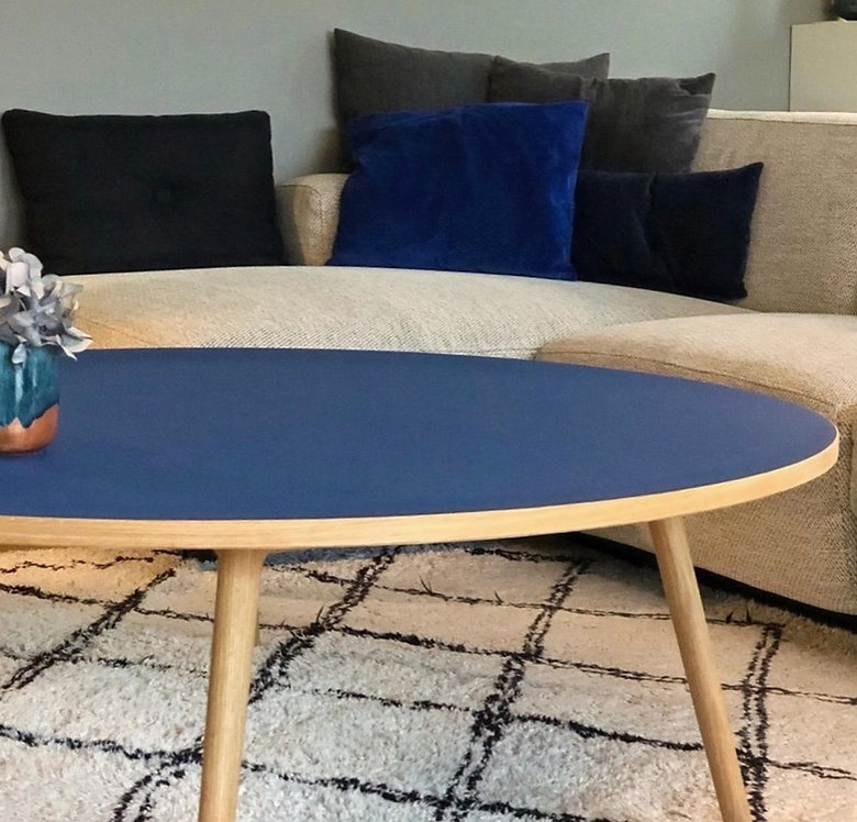 Rundt sofabord