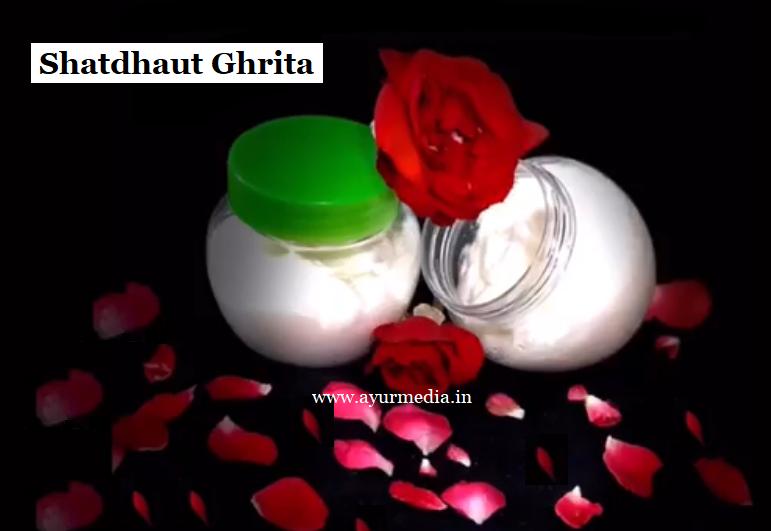 Shatadhauta Ghrita cream