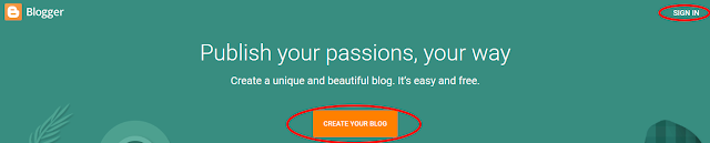 How to creat A free poetry Blog