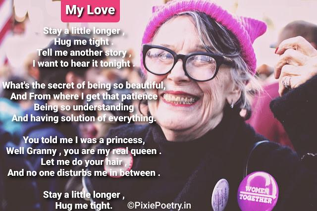 A Poem For Beloved GrandMother | Grandma poem