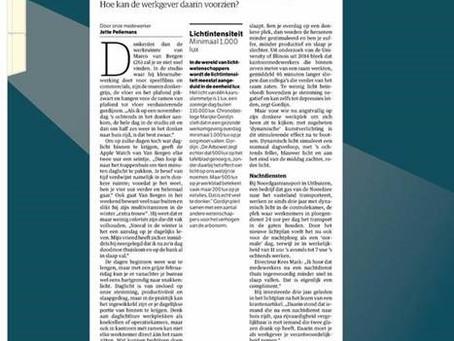 Marijke Gordijn in the NRC newspaper