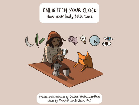 Out now! The comic book 'How your body tells time'