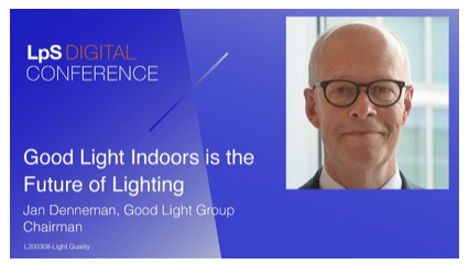 Good light indoors is the future of lighting