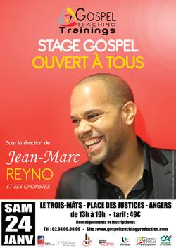 Stage avec JEAN-MARC REYNO