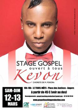 Stage avec KEVON