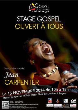 Stage avec JEAN CARPENTER